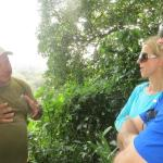 Marlon Tortuguero tour guide teaching