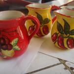 Cute wine jugs
