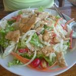 Mix chicken salad