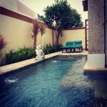 one room pool villa