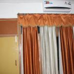 Old, dirty linen - curtains