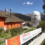 Vue d'ensemble de l'hôtel, avec son observatoire astronomique