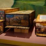 Tradycyjne ule z połowy XIX wieku zwane kraińskimi, zdjęcie: Adam Kliczek,