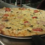 Casablanca, our white pizza