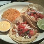 Lunch Shrimp Tacos  or Fish Tacos