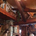 La salle à manger à l'intérieur