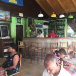 Small restaurant. Feels local. Very friendly. Has wifi :-)