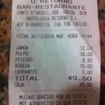 Photo de O' Retorno Restaurant