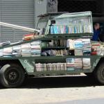 Fahrender Bücherverkauf in San Telmo