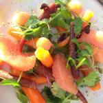 Baby heirloom carrots