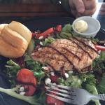 Balsamic Salmon Salad