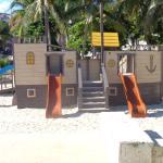 Children's playground within 1 block on public beach.