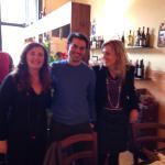Elisa, Alberto e Debora