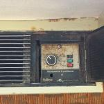 The AC control panel (for real!)