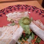 Quesadilla mit Huhn