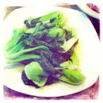 Sauté Shanghainese Vegetable in Garlic Sauce