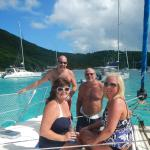 Boat tour to Jost Van Dyke BVI on Thanksgiving 11-27-14