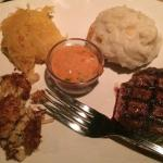 Sirloin and Crabcake Entree - Tasty!