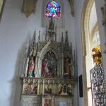 Vue d'un petit autel