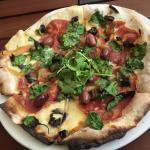 Copa meat pizza