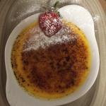 Orange creme brûlée
