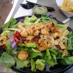 Grilled Shrimp Chile Lime Salad