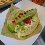 Grilled Wahoo Taco