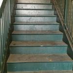Nasty stairway was just the beginning.