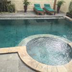 Pool in 3 bed villa