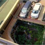 car park front porch