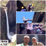 Abseiling down Maletsunyane Falls!