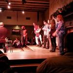 Audience acts the 12 days of Christmas hilarious!