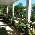 Library veranda