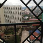 View from our room at 16th floor