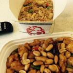 Fried Rice and Kung Pao Chicken