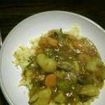 A nice vegetable curry