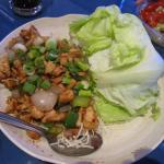 Lettuce Wraps (chicken)