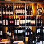 Fantastic Wine List and Tasting Bar