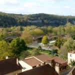 Vezere River Valley viewed from the museum terrace