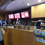 Order counter at Amorini Panini