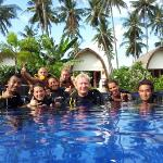 Diving around the Gili Islands with IDC dive resort Oceans 5 Gili Air