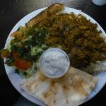 Shawarma Plate (lamb & beef) - terrible