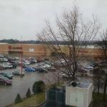 View of Super Target from room