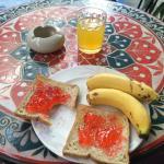 Not much breakfast