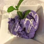 yam purplish ice-cream
