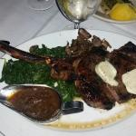 Tomahawk steak... Huge!