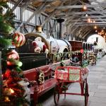 Father Christmas's Grotto in the Transfer Shed