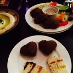 Heart falafel