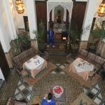vue du restaurant du 1er étage