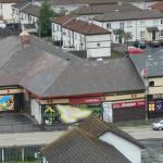 Derry, il Bogside dalle mura